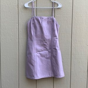 super cute purple dress from urban outfitters